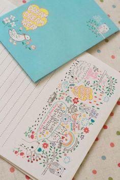 Kawaii Letter Set - Dream a little Dream