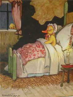 :: Sweet Illustrated Storytime ::  Illustration by Ernest Aris :: The Story of three Bad Ducklings