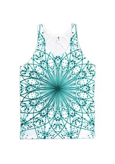 Fractal Life! This All Over Print design is made with high-quality, 100% spun polyester that delivers the look and feel of organic cotton without ever cracking, peeling or flaking. The back of each de
