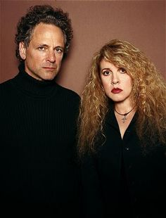 Stevie Nicks and Lindsey Buckingham in 2003