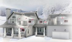 Heating And Cooling Units, Cooling System, Heat Pump System, Baseboard Heating, Heating And Air Conditioning, Ventilation System, Building A House, House Design, House Styles