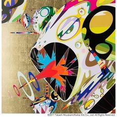 Takashi Murakami, Homage to Francis Bacon (Study of Isabel Rawsthorne)