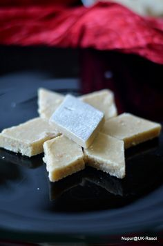 The Veggie Indian: Super Easy Kaju Katli - And some glimpse from Diwali this year http://www.ukrasoi.com/2012/11/super-easy-kaju-katli-and-some-glimpse.html