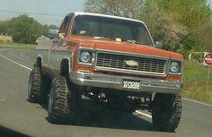 1974 Chevy k20 mmmm my daddy's old truck <3