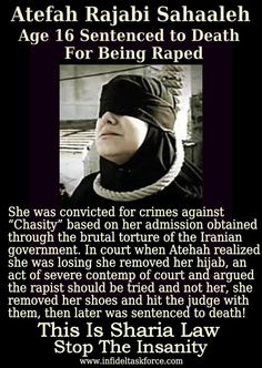 16 year old rape VICTIM hanged!!!