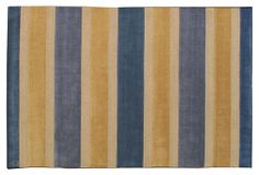 Hunter Rug, Blue/Gold on OneKingsLane.com