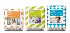 Eroski Diapers and Nappy Pants  - The Dieline -