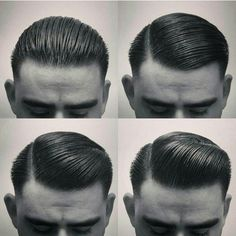 Back in the crazy 1950s, men could style their hair any way they wanted.
