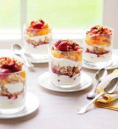 Crunchy yoghurt and