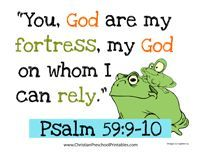 F.R.O.G Bible Lesson. Memory verse, copywork, games, bookmarks, puzzles, etc around the theme Fully Rely on God