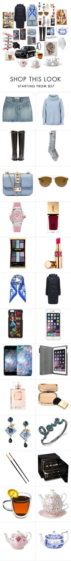 """TEA PARTY WITH MY FRIENDS!!"" by kukl ❤ liked on Polyvore featuring Marc by Marc Jacobs, Maison Ullens, Valentino, Rochas, Christian Dior, Salvatore Ferragamo, Yves Saint Laurent, Dolce&Gabbana, Chanel and Versace"