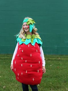 Strawberry Halloween Costume - Noodlehead