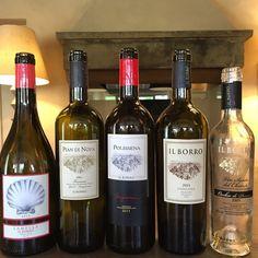 All #IlBorro #wines! #ilborroexperience
