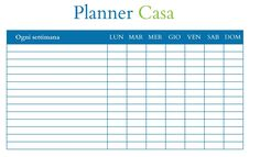 Pulizie di casa: il planner per tutto l'anno - BabyGreen