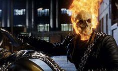 Nicolas Cage Ghost Rider, Ghost Rider 2007, Ghost Rider Movie, New Ghost Rider, Ghost Rider Marvel, Marvel Names, Marvel E Dc, Marvel Heroes, Marvel Universe