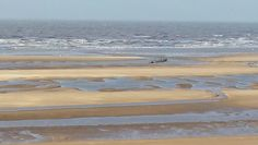Star of hope shipwreck off the Sefton coast, Ainsdale.