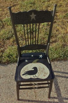 catnap: painted Crow Chair
