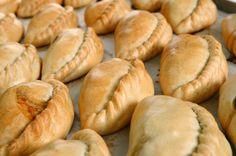 Pastes típicos de Pachuca Hidalgo, empanadas de carne y verduras derivación de antigua receta inglesa