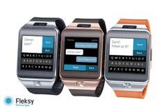 Fleksy brings its smart keyboard to even smaller screens click here:  http://infobucketapps.com