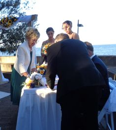 A wonderful winter wedding on the foreshore at Woody Point Brisbane, very cold and windy but lots of fun and laughter. #myweddings #greatoutdoorweddings #wonderfulwinterweddings