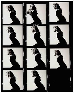 David Bailey contact sheet for Candace Bergen. Fashion Photography Poses, Photography Women, Film Photography, White Photography, David Bailey, Portraits, Portrait Photographers, White Contact Lenses, Vogue Magazin