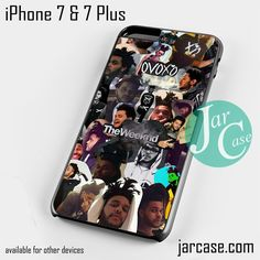 Drake X The Weeknd Collage Cool Phone case for iPhone 7 and 7 Plus