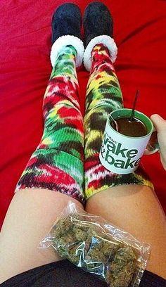 Wake and Bake Stoner Marijuana Weed Kush 420 Mary Jane: http://shop.stonerdays.com