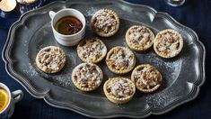 Mary Berry's mince pies - Mary Berry's mince pies recipe – BBC Food - Mary Berry Mince Pies, Fruit Mince Pies, Mince Meat, Mary Berry Jam Tarts, Pastry Recipes, Baking Recipes, Cake Recipes, Dessert Recipes, Mary Berry Christmas