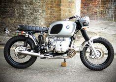 BMW by Untitled Motorcycles Bmw R100 Scrambler, Scrambler Motorcycle, Bmw Motorcycles, Custom Motorcycles, Custom Bikes, Bobber Bikes, Motorcycle Style, Harley Davidson Chopper, Vintage Harley Davidson