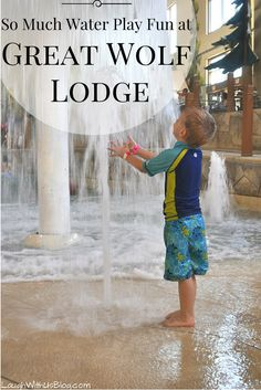 Slides, wave pool, water forts, pools--there's plenty of water play fun for all…