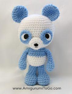Amigurumi Panda - FREE Crochet Pattern / Tutorial by Amigurumi To Go