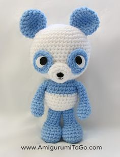 Amigurumi Panda - FREE Crochet Pattern / Tutorial by Amigurumi To Go