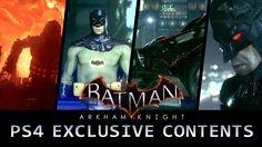 Batman: Arkham Knight - PS4 Exclusive Content Trailer