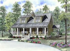 House Plan 62131   Bungalow   Cabin   Country   Southern   Vacation    Plan with 1451 Sq. Ft., 3 Bedrooms, 2 Bathrooms