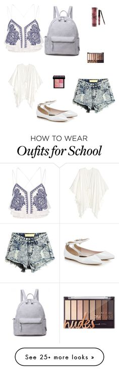 """The school outfit"" by kaileygrimmett12 on Polyvore featuring River Island and Givenchy"