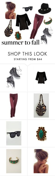 """""""Summer To Fall"""" by planetblue ❤ liked on Polyvore featuring Free People, Goddis, Mother, Stela 9 and Peeka Booda"""