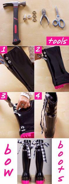DIY: BOOTS   ¡Hola!     En esta temporada lo que más nos importa es mantener nuestros pies calientitos, empezamos a desempolvar el closet p...