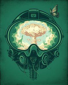 Креативные иллюстрации Энкеля Дика