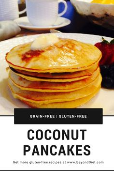 Coconut Pancakes | Grain-free, gluten-free, and tasty!