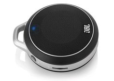 JBL Micro Wireless Black –  You can wirelessly stream audio to the speaker from any Bluetooth-equipped device, or use the included audio cable to connect it to any mobile device or MP3 player. You can even daisy-chain it with other JBL Micro Wireless speakers for a powerful sonic experience.