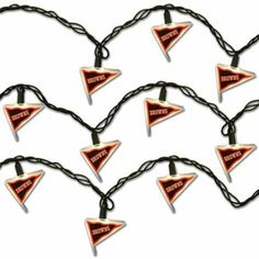 Cleveland Browns Pennant Party Lights  #FanaticsWishList