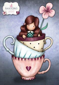 Art Drawings For Kids, Disney Drawings, Cute Drawings, Art For Kids, Love Pink Wallpaper, Santoro London, Angel Drawing, Drawing Wallpaper, Pebble Painting