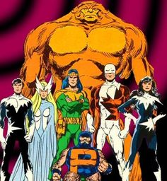 We do have our own super heroes. Thanks to Marvel, we have The Gaurdian(Some of us refer to him as Cpt Canuck), SnowBird, Aurora, North Star, Shaman, Sasquatch and of course, Puck. Characters also associated is Marrina and Wolverine.