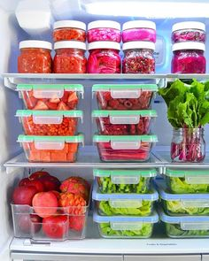 The Eat to Live Fridge | Hello Nutritarian