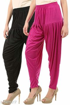 Ethnic Bottomwear - Patiala Pants Stylish Women's Patiala Pants Fabric: Cotton Viscose Size: XL - 34 in  XXL - 36 in  Length: Up To 40 in Type: Stitched Description: It Has 2 Pieces Of Women's Patiala Pants Pattern: Solid Country of Origin: India Sizes Available: 32, 34, 36, 38, 40, 42, 44, 46   Catalog Rating: ★3.9 (241)  Catalog Name: Women Patiala Pants CatalogID_816789 C74-SC1018 Code: 853-5475317-168