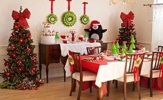 Deixe a casa no clima do #Natal!