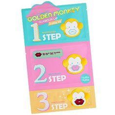 [Holika Holika] Golden Monkey 3-Step Kit (5PCS)