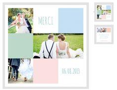carte de remerciements de mariage ple mle color httpwwwlips - Modele Carte Remerciement Mariage