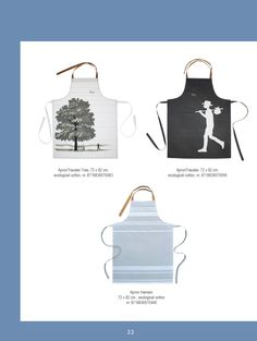 Ecological cotton kitchen textile; graphic, romantic and fresh, all of a ferm quality | www.kiem-wayoflife.com