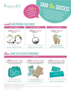 incentive that just came available when you join my team www.ritzjewelry.origamiowl.com